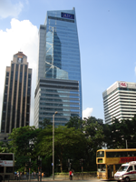 AIG's Hong Kong office