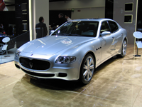 The model of Maserati reportedly owned by Lombard and used by CEO Michael Reeves
