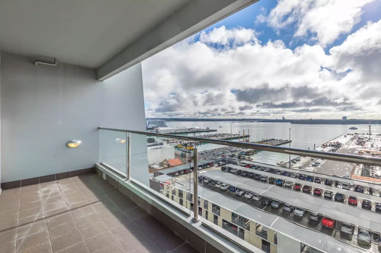 Hard to value Auckland waterfront apartment with two car parks sells