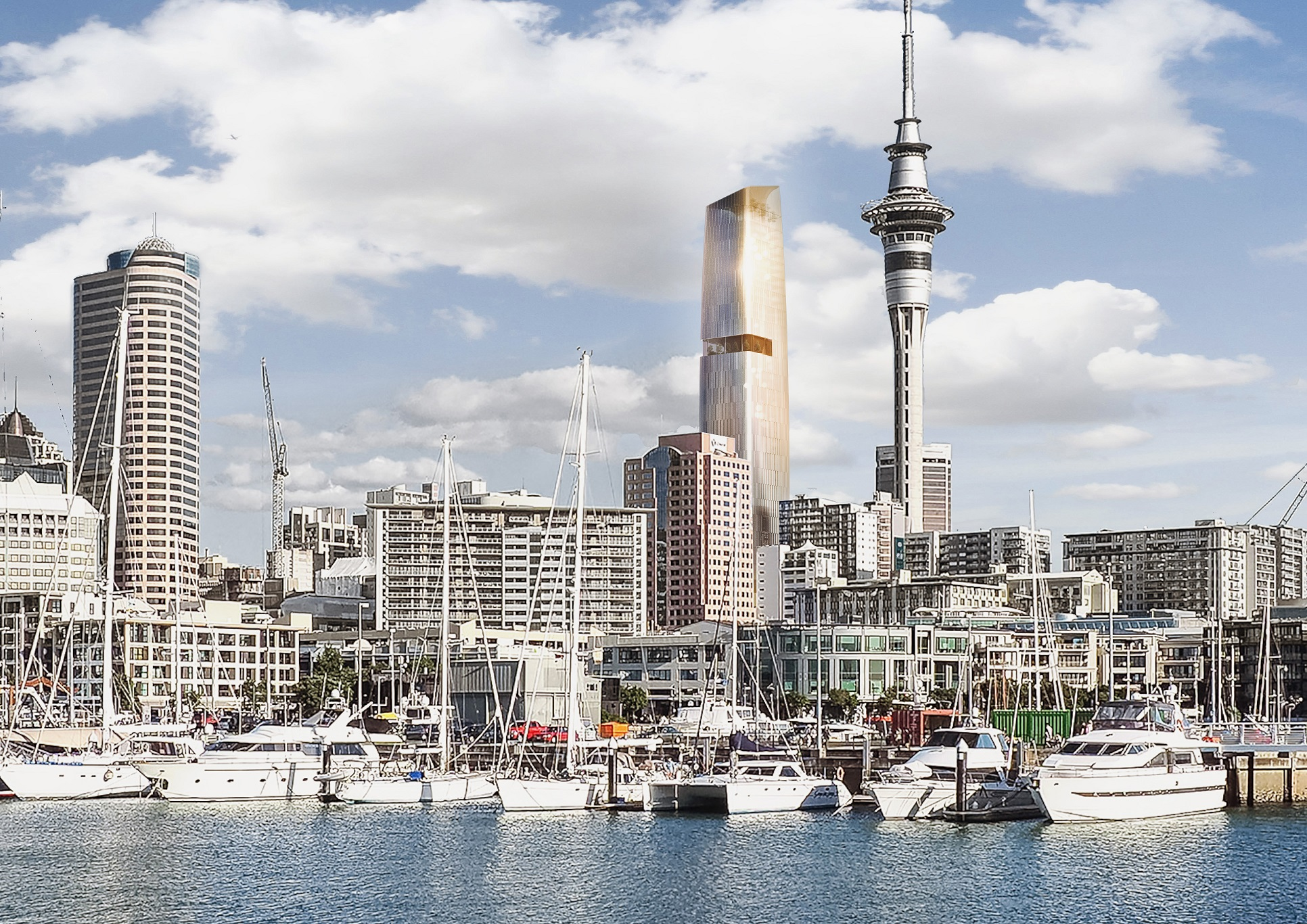 A new tower in Auckland's Central Business District will ...