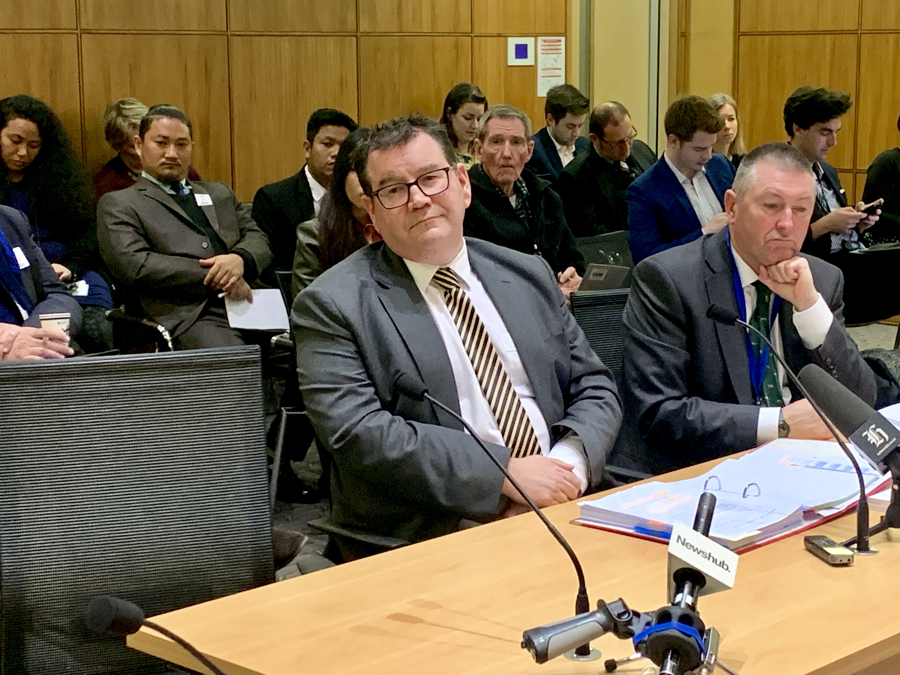 Finance Minister Grant Robertson admits lack of faith in