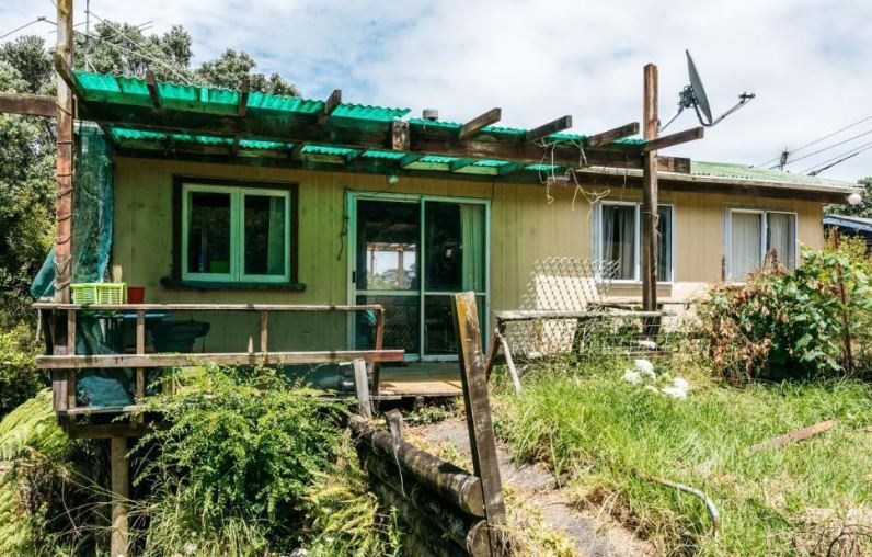 A bach on Waiheke Island sold for just over two thirds of