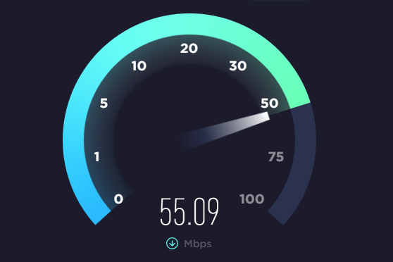 Faster broadband allows users to access much more data  Comparing