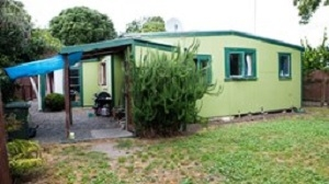 This two bedroom bach at Te Awanga on the coast south of Napier sold for $300,000.
